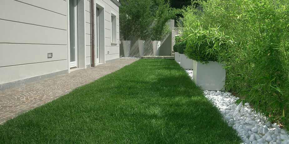 Giardini in stile moderno tecnoverde - Giardino moderno design ...