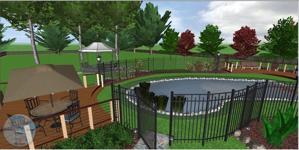 Progettazione giardini gratis idea creativa della casa e for Progettazione giardini software